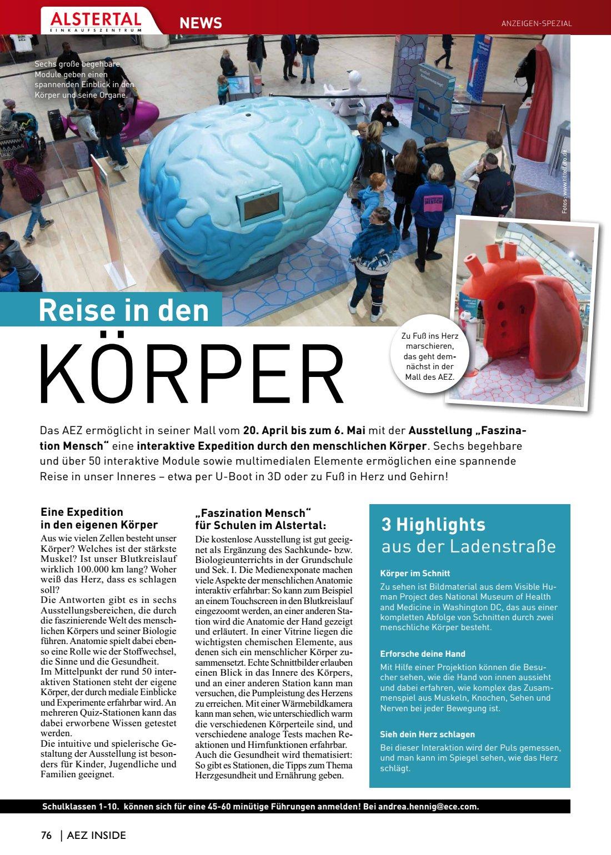 Reise KÖRPER Highlights