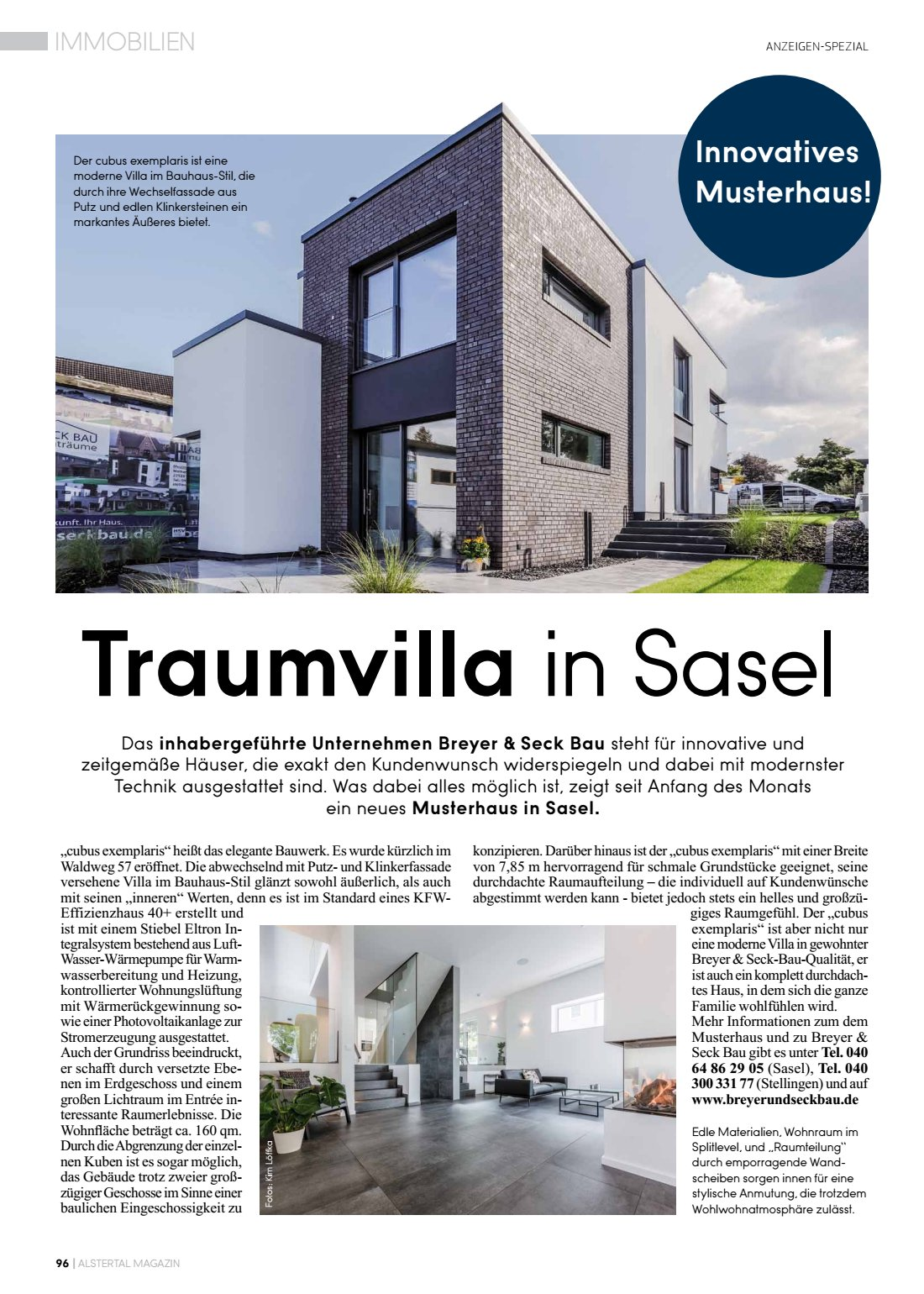 Traumvilla Sasel Innovatives