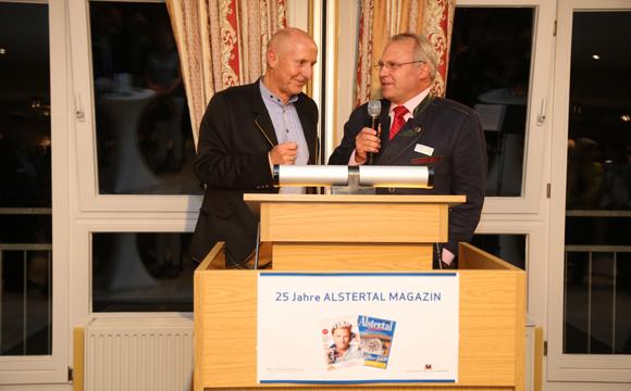 25 Jahre Alstertal Magazin Jubiläumsfeier in der Mellingburger Schleuse am 22.9.2016